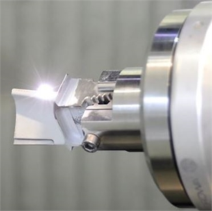 Laser ablate HP turbine blade
