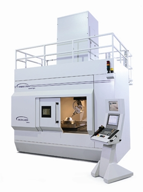 Delta 5 axis laser machining system for Aero Combustors and Large Aero / IGT components